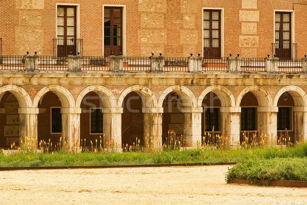 Aranjuez Palacio Real 05 Stock photo © LianeM