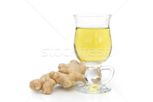 tea ginger 01 Stock photo © LianeM