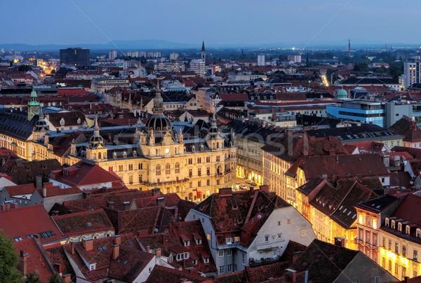 Graz townhall  Stock photo © LianeM