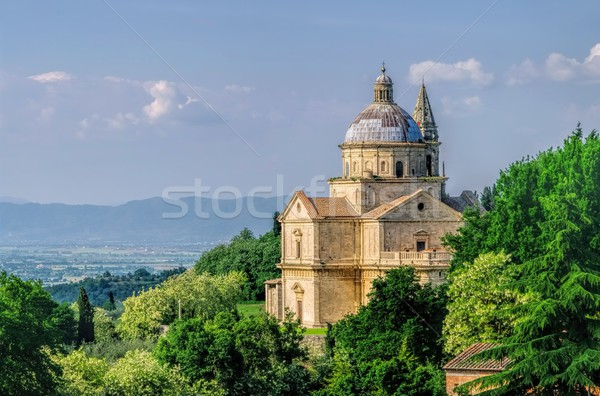 Montepulciano church  Stock photo © LianeM