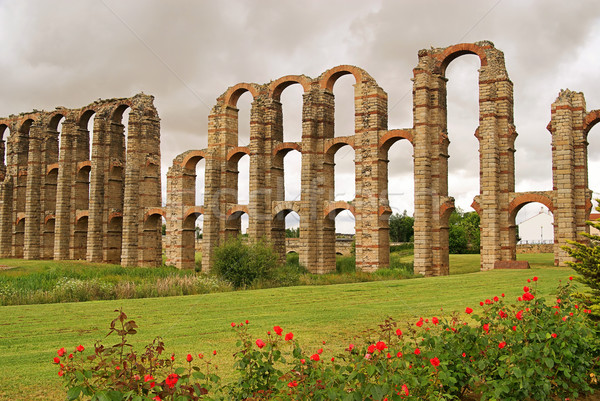 Merida Aqueduct 01 Stock photo © LianeM