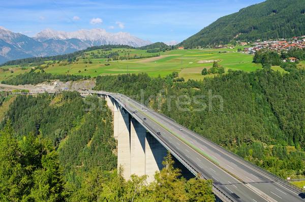 14 most podróży ruchu konkretnych szybko Zdjęcia stock © LianeM