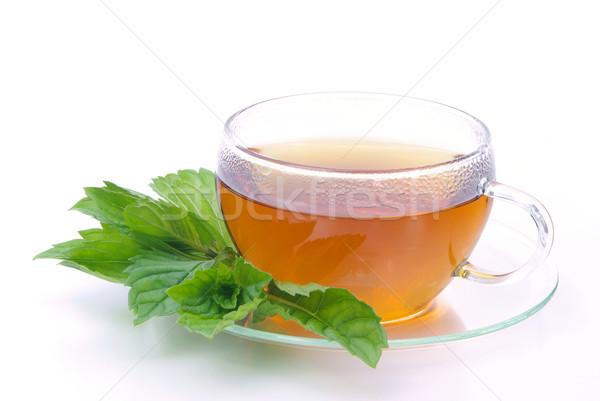 tea Peppermint 07 Stock photo © LianeM