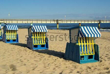 beach chair 13 Stock photo © LianeM