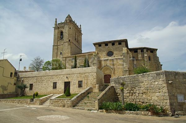 Castrillo de Murcia  Stock photo © LianeM