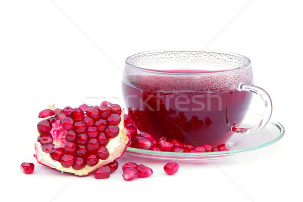 tea pomegranate 02 Stock photo © LianeM