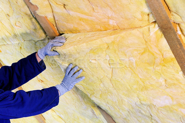 mineral rock wool 02 Stock photo © LianeM
