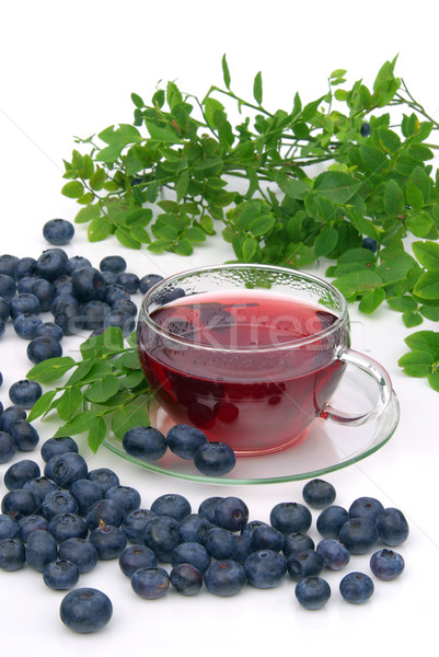 blueberry tea 15 Stock photo © LianeM