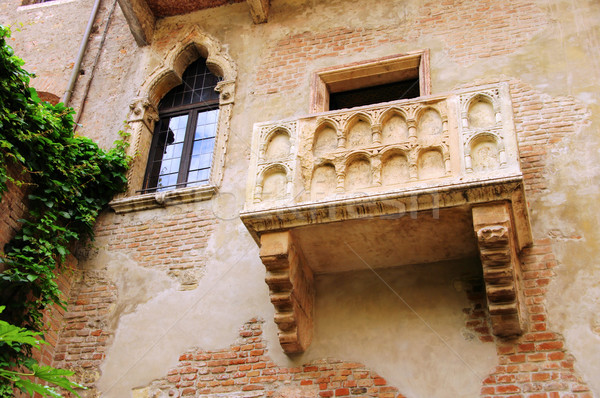 Verona Balcony 01 Stock photo © LianeM