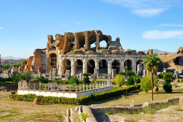 Capua amphitheatre 02 Stock photo © LianeM