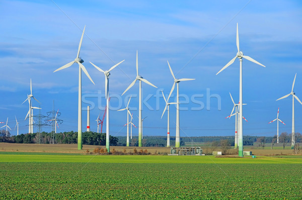 Wind turbine 32 Stock photo © LianeM