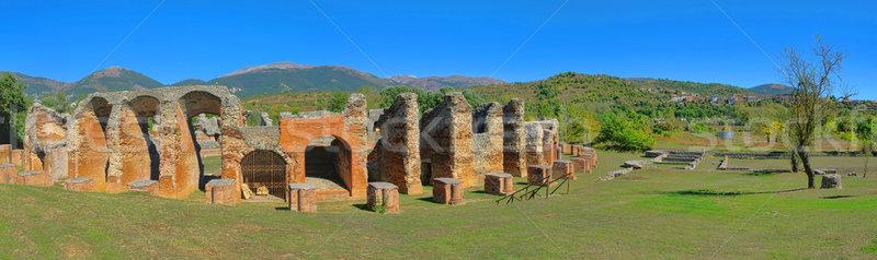 Amiternum amphitheatre 02 Stock photo © LianeM