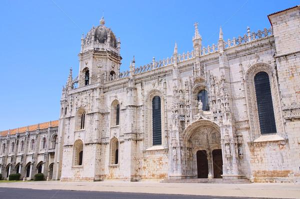 Lisbon Jeronimos Monastery 01 Stock photo © LianeM