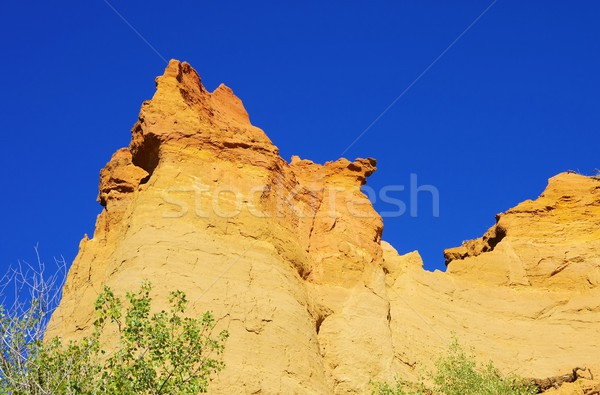 Rustel ocre rocks 45 Stock photo © LianeM