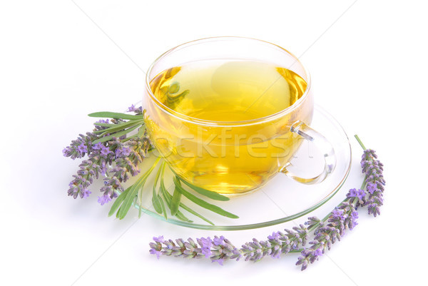 lavender tea 03 Stock photo © LianeM