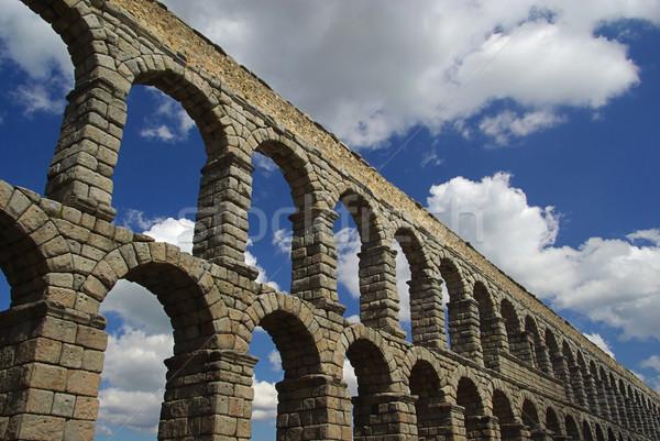 Segovia Aqueduct 06 Stock photo © LianeM