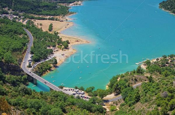 Lac de Sainte-Croix 01 Stock photo © LianeM