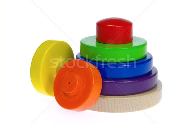 Foto stock: Brinquedos · fundo · laranja · vermelho · brinquedo