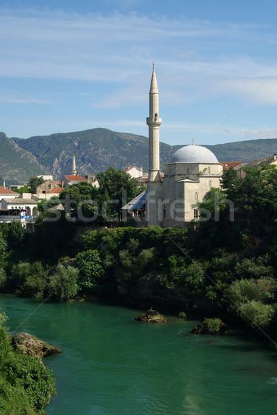 Mostar mosque 04 Stock photo © LianeM