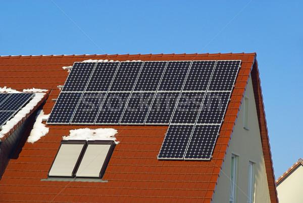 solar plant 48 Stock photo © LianeM