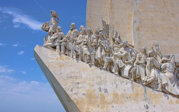 Lisbon Monument to the Discoveries 05 Stock photo © LianeM