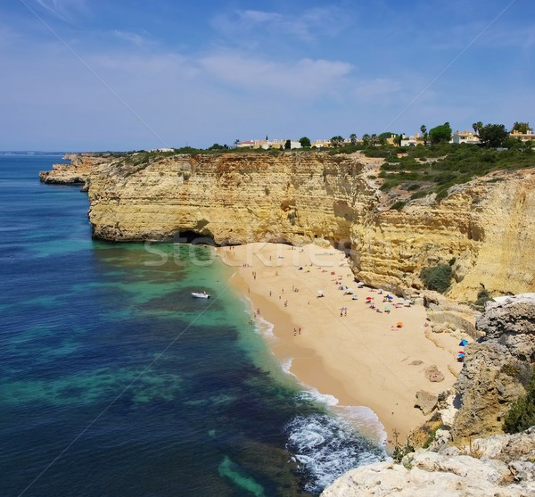 Algarve beach Vale de Centeanes  Stock photo © LianeM