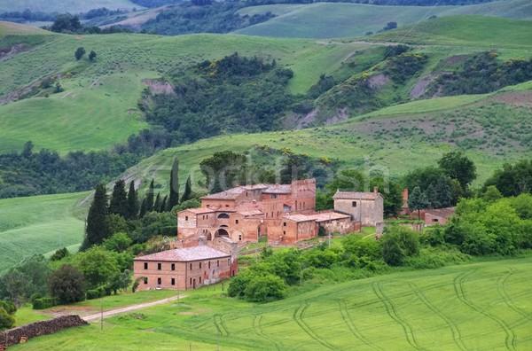 Tuscany village  Stock photo © LianeM