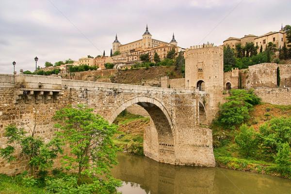 Toledo Puente de San Martin 01 Stock photo © LianeM