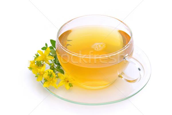 tea St Johns wort 05 Stock photo © LianeM