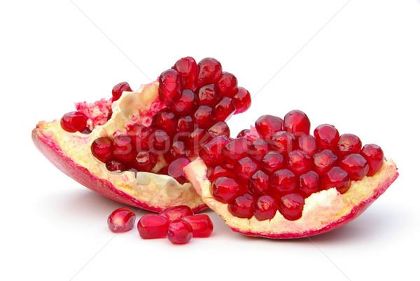 Granatapfel freigestellt - pomegranate isolated 11 Stock photo © LianeM