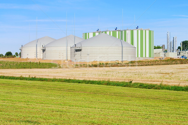 Biogáz növény energia Stock fotó © LianeM
