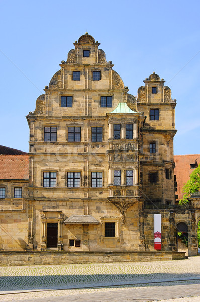 Stock photo: Bamberg imperial palace 02