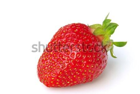 strawberry isolated 02 Stock photo © LianeM