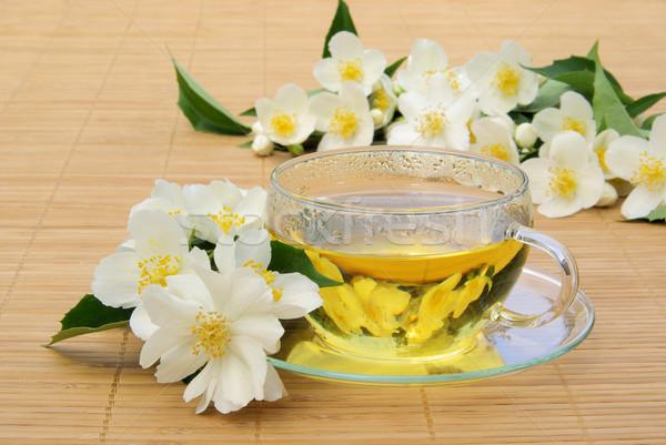 Jasmine tea 09 Stock photo © LianeM