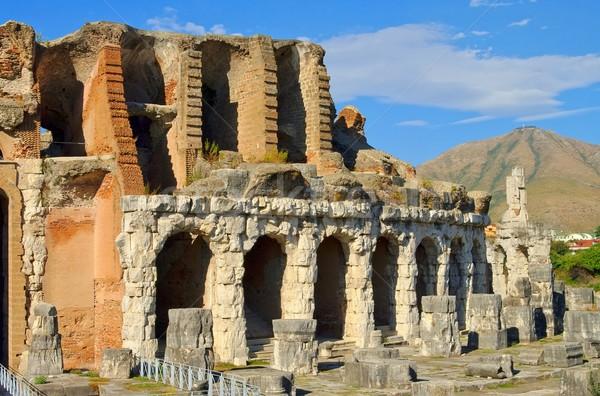 Capua amphitheatre  Stock photo © LianeM