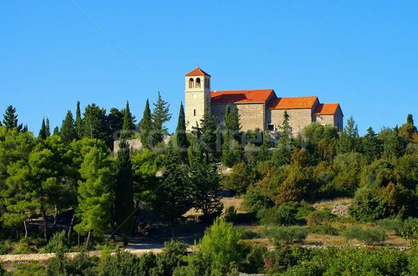 Zastrazisce church  Stock photo © LianeM
