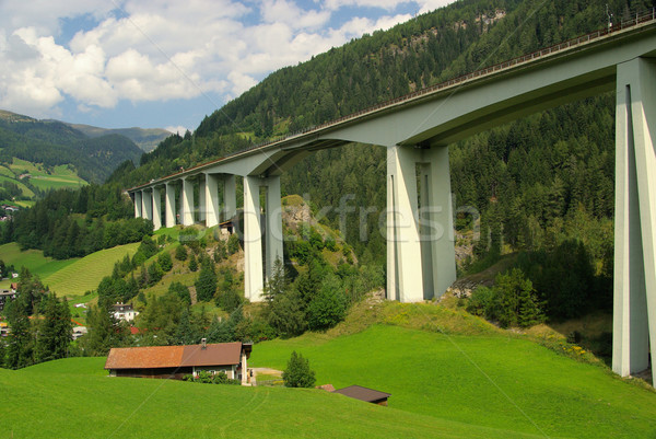 Brennerautobahn 03 Stock photo © LianeM