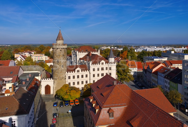 town Bautzen in Upper Lusatia Stock photo © LianeM