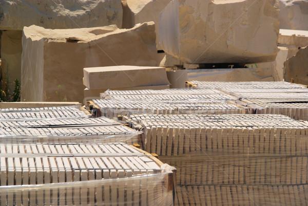 marble quarry 06 Stock photo © LianeM