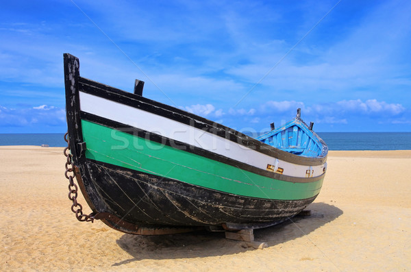 Portugal boat 01 Stock photo © LianeM