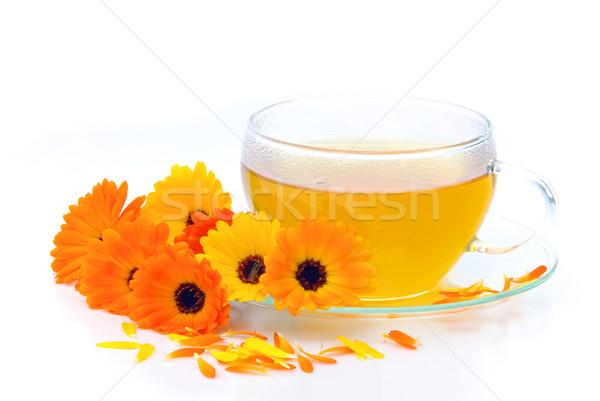 tea marigold 02 Stock photo © LianeM