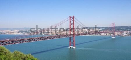Lisbon bridge 02 Stock photo © LianeM