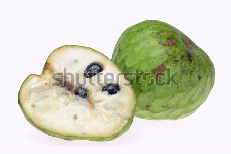 14 meyve yeşil tropikal beyaz taze Stok fotoğraf © LianeM