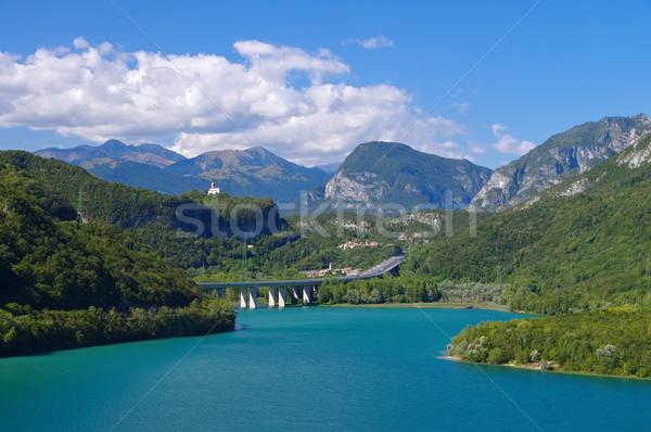 Lago di Cavazzo  Stock photo © LianeM