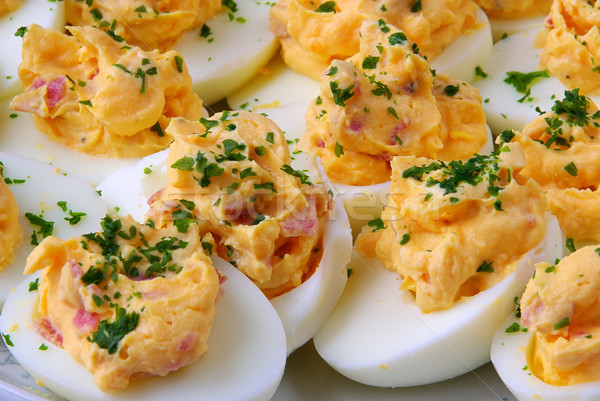 deviled egg 01 Stock photo © LianeM