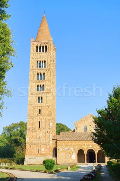 Pomposa abbey 02 Stock photo © LianeM