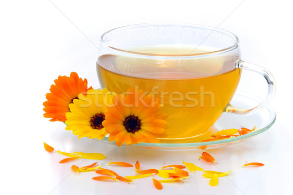 tea marigold 08 Stock photo © LianeM