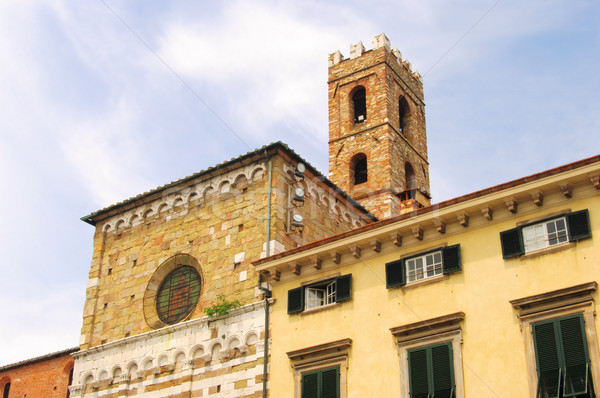 Lucca church 01 Stock photo © LianeM