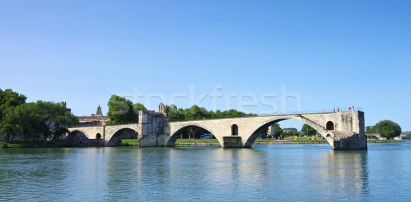 Avignon Bridge 08 Stock photo © LianeM