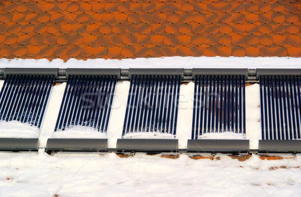 solar plant 86 Stock photo © LianeM